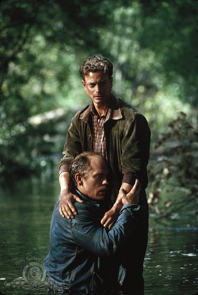 Gary sinise and john malkovich of mice and men 1992