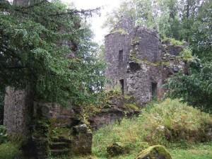 Ruins of Finlarig Castle - Perthshire, Scotland