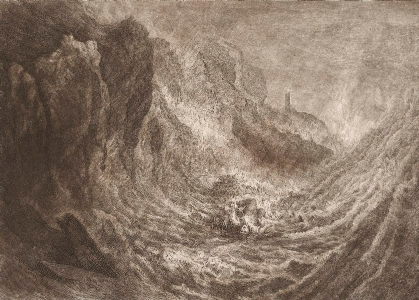 The Lost Sailor (eching and mezzotint) - J.M.W. Turner (1775 - 1851) undated