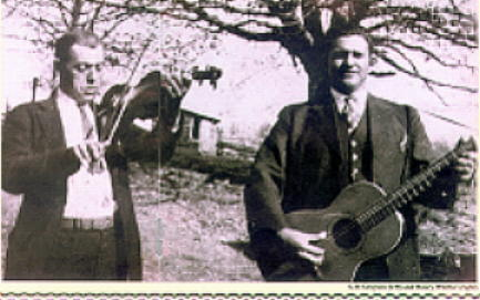 G.B. Grayson and Henry Whitter, ca. 1920's, photographer unknown