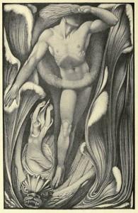 """The Demon Lover"" from 'Ballads Weird and Wonderful' (Vernon Hill, 1912)"