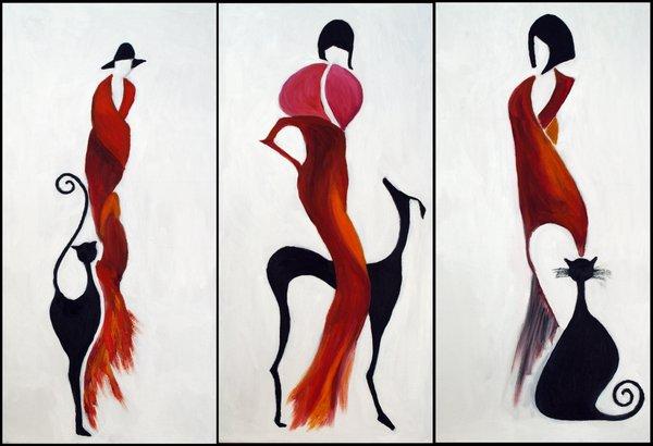 Ladies in Red - Yenna Savil