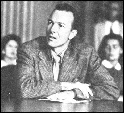 Pete Seeger appears before HUAC.