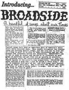 Broadside #1