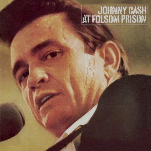 Johnny Cash at Folsom Prison - album cover, Columbia Records, 1968