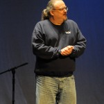 Ron Olesko onstage at the Hurdy Gurdy 2013