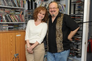 Cathie Ryan and Ron Olesko at WFDU-FM