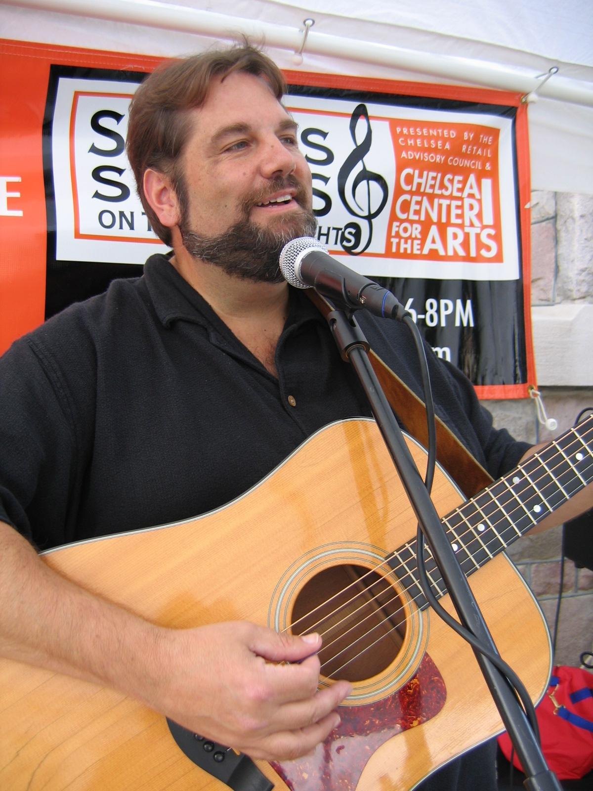 Matt Watroba performs