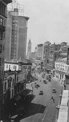 1921 View of Peachtree Street - Atlanta History Center