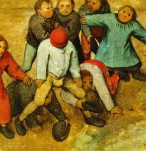 Bruegel: Childrens Games (1560)