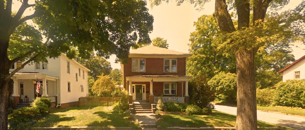 The former Harvey home in Richmond, Virginia (image: Google)
