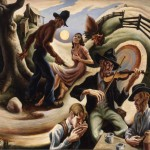 The Ballad of the Jealous Lover of Lone Green Valley - Thomas Hart Benton, 1934