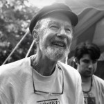 Pete Seeger, Photo Copyright Devan Goldstein