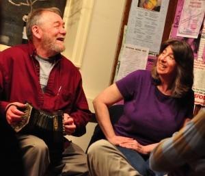 John Roberts and Debra Cowan
