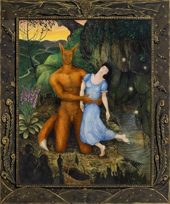 Reynardine - 2004, Dan Dutton - oil on canvas, collection of 21C Museum