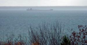 Great Lakes shipping. Photo by Cindy Hunter Morgan (edited)