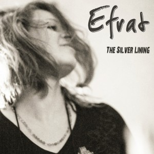 "CD cover for Efrat's ""The Silver Lining"""