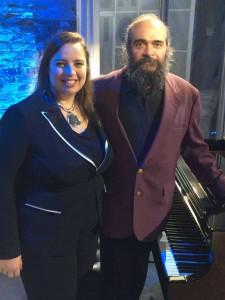 Anna Shternshis and Psoy Korolenko (photo courtesy of Anna Shternshis)