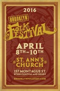 2016 Brooklyn Folk Festival