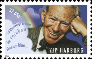 Yip Harburg's USPS Stamp
