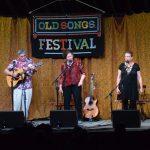 Howard Bursen, Sally Rogers and Claudia Schmidt Old Songs 2016