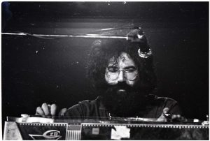 Garcia on pedal steel, Sargent Gym, Boston University - November 21, 1970