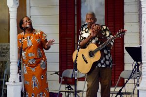 Kim and Reggie Harris Old Songs 2016