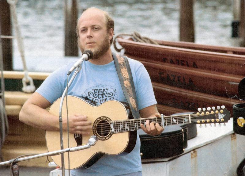 Stan Rogers plays aboard the tall ship Gazela Primeiro.