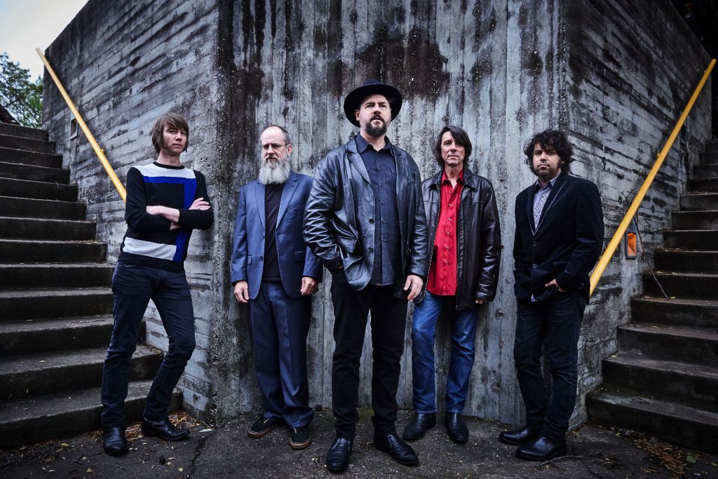 Drive-By Truckers (Matt Patton, Brad Morgan, Patterson Hood, Mike Cooley, Jay Gonzalez) photo credit: Danny Clinch