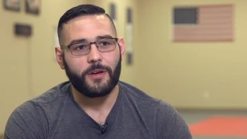 Chris Mintz (source: screencap from interview video)