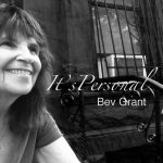 "CD cover for Bev Grant's ""It's Personal"""