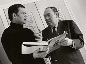 Dietrich Fischer-Dieskau and Gerald Moore (1960s) (Siegfried Lauterwasser; Opera News)