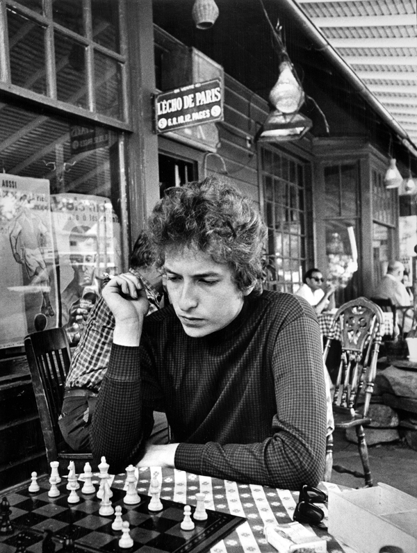 Dylan plays chess. Photo credit: Daniel Kramer