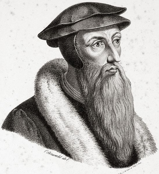 John Calvin (source: Wikipedia, public domain)