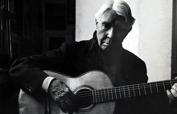 Carl Sandburg (photo by William A. Smith, from Carl Sandburg Home National Historic Site)
