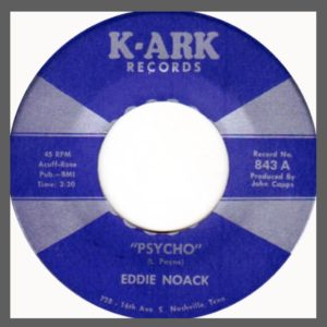"""Psycho"" 45 (K-Ark Records, 1968; rateyourmusic)"