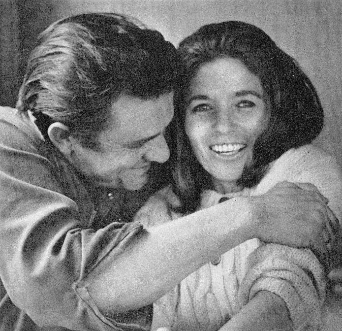 Johnny Cash And June Carter 1969